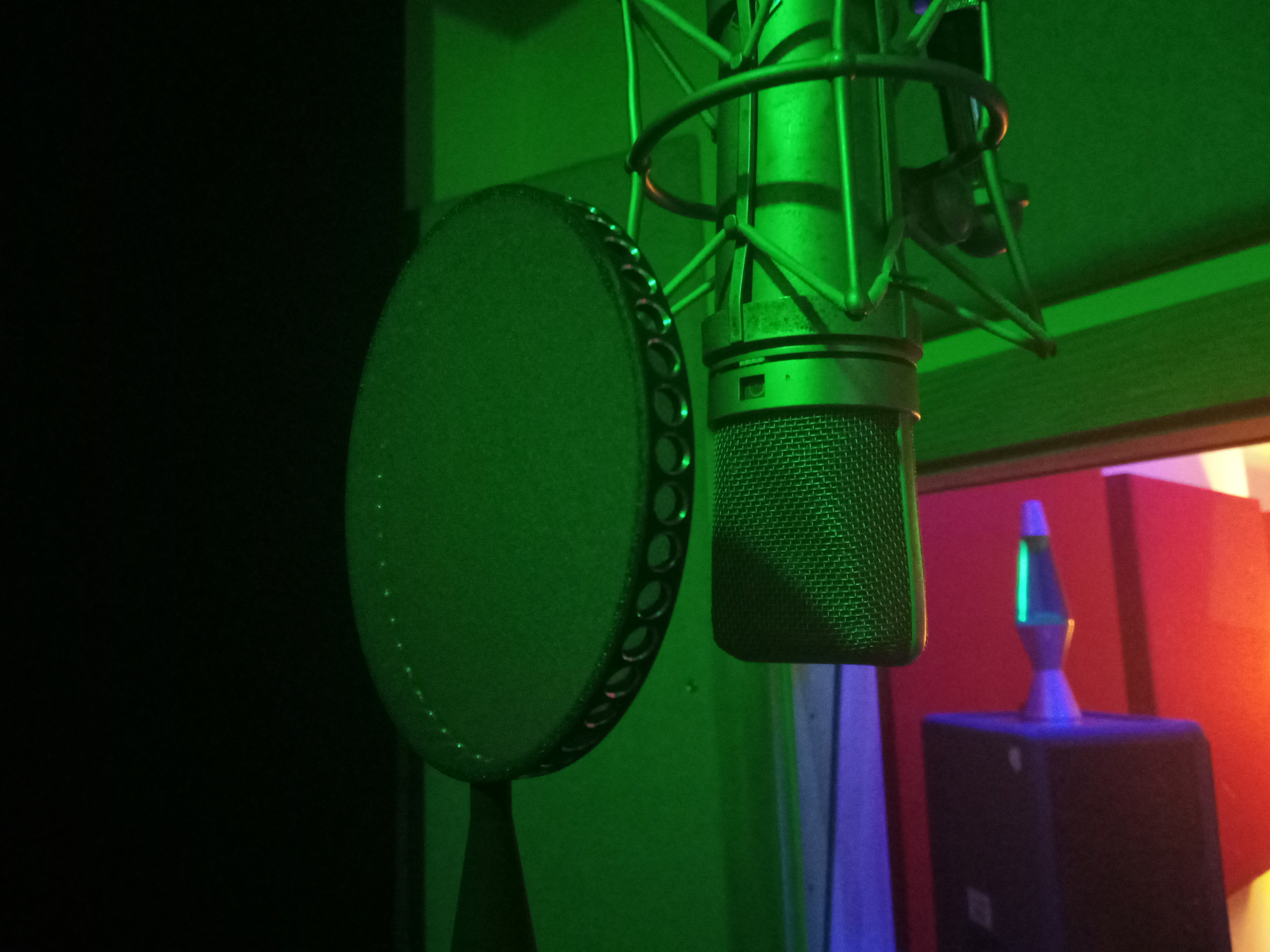 Vocal booth BR Studio
